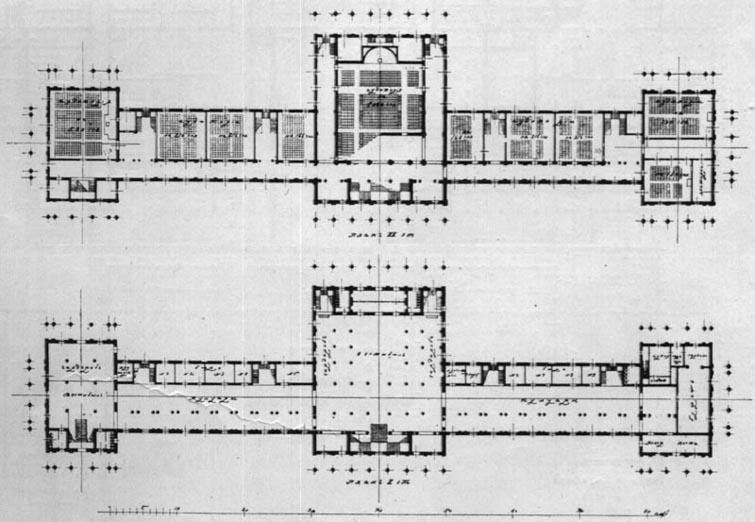План здания съездов.